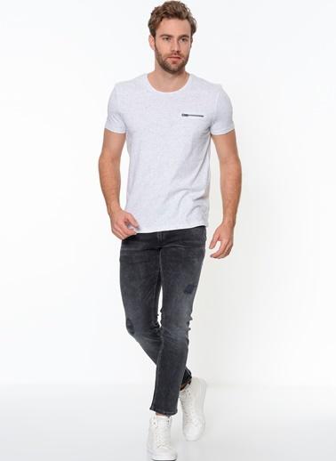 Cepli Tişört-Mavi